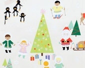 Fabric, Christmas Fabric, Holiday Fabric, Alexander Henry Fabric,  Silly Chilly Christmas Fun,  Fabric by the Yard, SALE