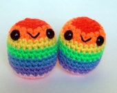 Amigurumi Rainbow Blobite
