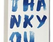 Thank You Indigo Card