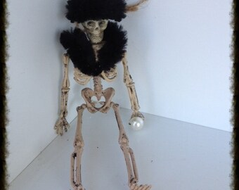 Mrs. Ellington Majors: A Happy Halloween Skeleton Ornament Halloween Decoration