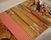 BAKING FUN CLIPBOARD Kitchen Decor