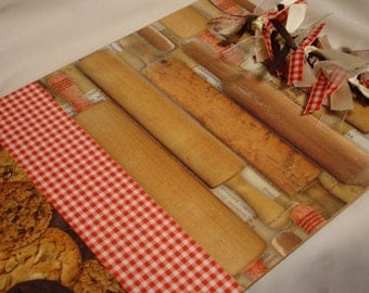 BAKING FUN CLIPBOARD Kitchen Decor