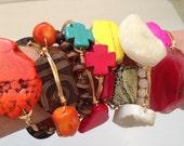 Custom Order Wire Wrap Bracelets