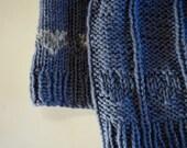 Sale for Summer - Women's Hand Knit Hat - The Clandestine Heart in Organic Merino Wool - Dark Grey