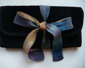 Velvet Jewelry Case with Silk Tie