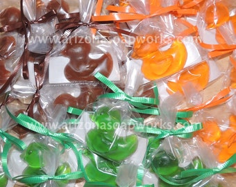 30 Hunter Rubber Ducky Duck Soap - Individually Wrapped - Baby Shower - Birthday - Party Favor