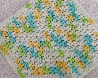 Crochet Dishcloth-Sunny Sky
