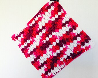 Crochet Dishcloth-Azalea