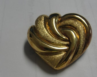 Goldtone Heat Slide Pendant