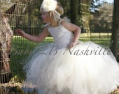 Ivory Lace Flower Girl Dr...