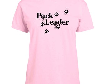 Ladies T-shirt Pack Leader Paw Print Art Sizes XS-2X