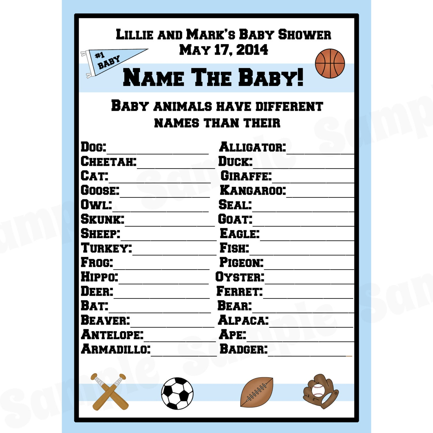 24 Personalized Baby Shower Baby - 248.8KB