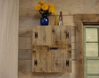 "Driftwood Cabinet (24""H x 20""W x 8"" D)"