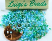 11/0 Miyuki Delica Glass Seed Beads DB2067- Luminous Mermaid Waters Mix 5g