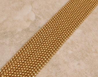 Diamond Cut Ball Chain, 1.5 mm, Satin Hamilton Gold, 6 Ft., AG236
