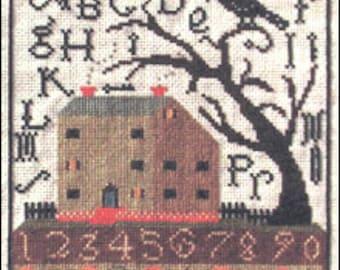 cross stitch PATTERN - All Hallow's Eve - from Notforgotten Farm