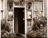 England Photography Cotswold Hotel Landscape Fine Art English Decor Sepia Style Home Decor Office Decor 8 x 10 Photograph