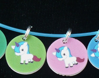 STITCHMARKERS for KNITTERS or CROCHETERS, My Little Unicorn
