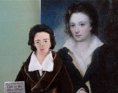 Percy Shelley Poet Doll Art Miniature English Romantic Literature
