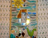 Sunny Spring Day Mosaic Switch Plate Gifts Under 20 Dollars