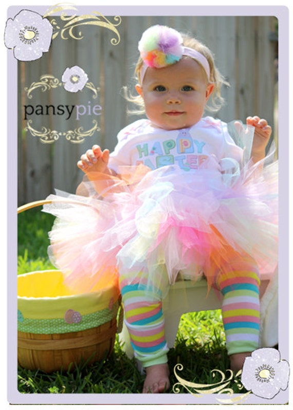 Baby Girl Easter Outfit Easter Bunny Tutu Set 9 12 18 Months