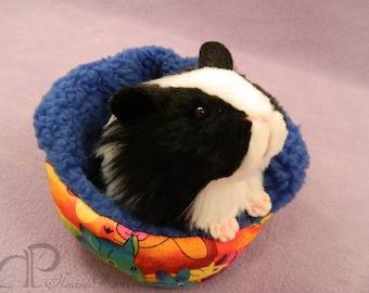 Little Guinea Pig Plush - Black and White
