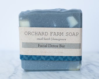 Facial Detox Soap// Activated Charcoal// Complexion Soap