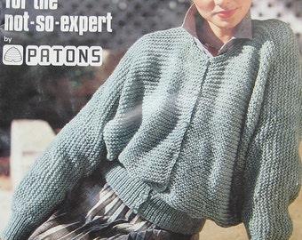 Patons Knitting Fashion Pattern Book
