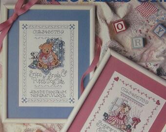 Boys & Girls Are Made Of Cross Stitch Pattern Leisure Arts