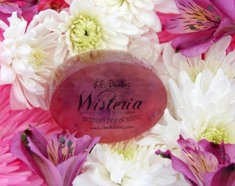 Wisteria Soap from the Flower Garden