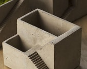 Concrete Architectural Planter Zen Garden Cement House