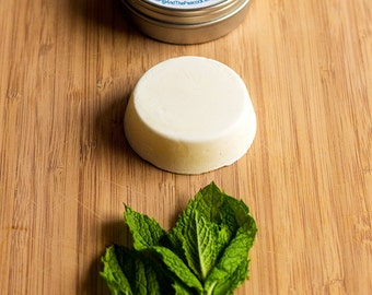 Lotion Bar - Rosemary Mint Solid Lotion Bar // Gifts for Her