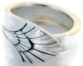 Spoon Ring Manhattan Modernist Era Size 5 6 7 8 9 10