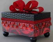 Midnight Romance Keepsake Trinket Box