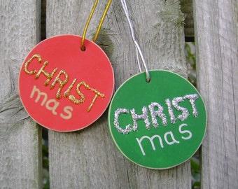 SALE - CHRISTmas Christian/Inspirational Christmas Ornament