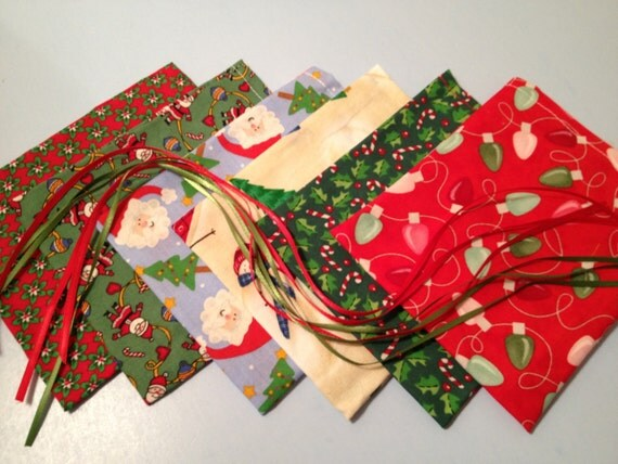 Sale assorted christmas gift bags ribbon tied by
