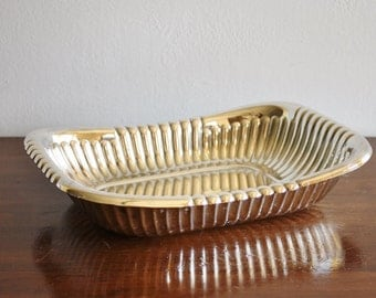 Vintage modern rectangular silver bowl, Sheffield