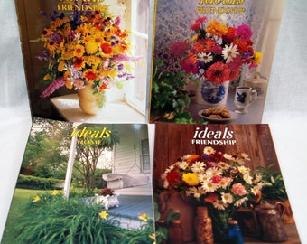 Ideals Magazines LOT of 4 Home and Friendship Vintage Issues