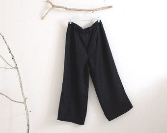 custom simple linen pants by annyschoo