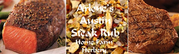 Arlene's Austin Steak Rub is great on any steak, but does wonders on tougher cuts. Order today.