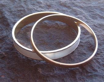 Bracelets, Monet Jewelry, Vintage Set of Monet Bangle Bracelets