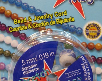 Clear Stretch Magic Cord Bead and Jewelry Cord  .5mm 32 ft