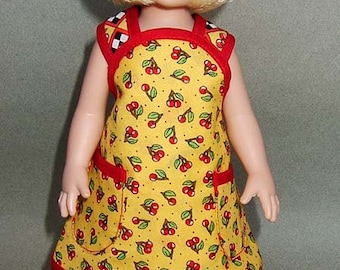 """Pattern for Aprons for 10""""  Girl Dolls - Patsy and Ann Estelle by Tonner"""