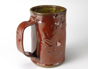 Tomato Salvage Textured Mug