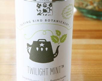 0407 Twilight Mint organic loose leaf tea