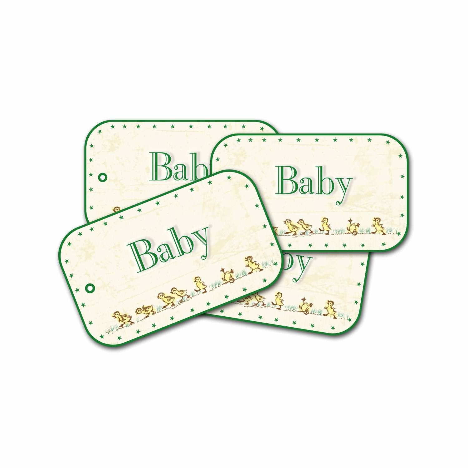 baby duck gift tags baby shower tag newborn gift tags