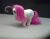 My Little Pony Blue Flower 1982