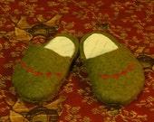 Wooliquin Felt Clogs