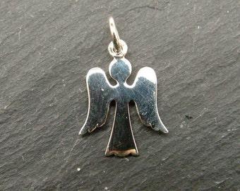 Sterling Silver Angel Pendant 18mm (CG6314)