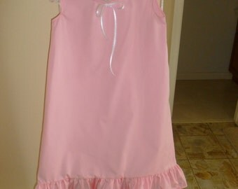 Child's pink polycotton Nightgown